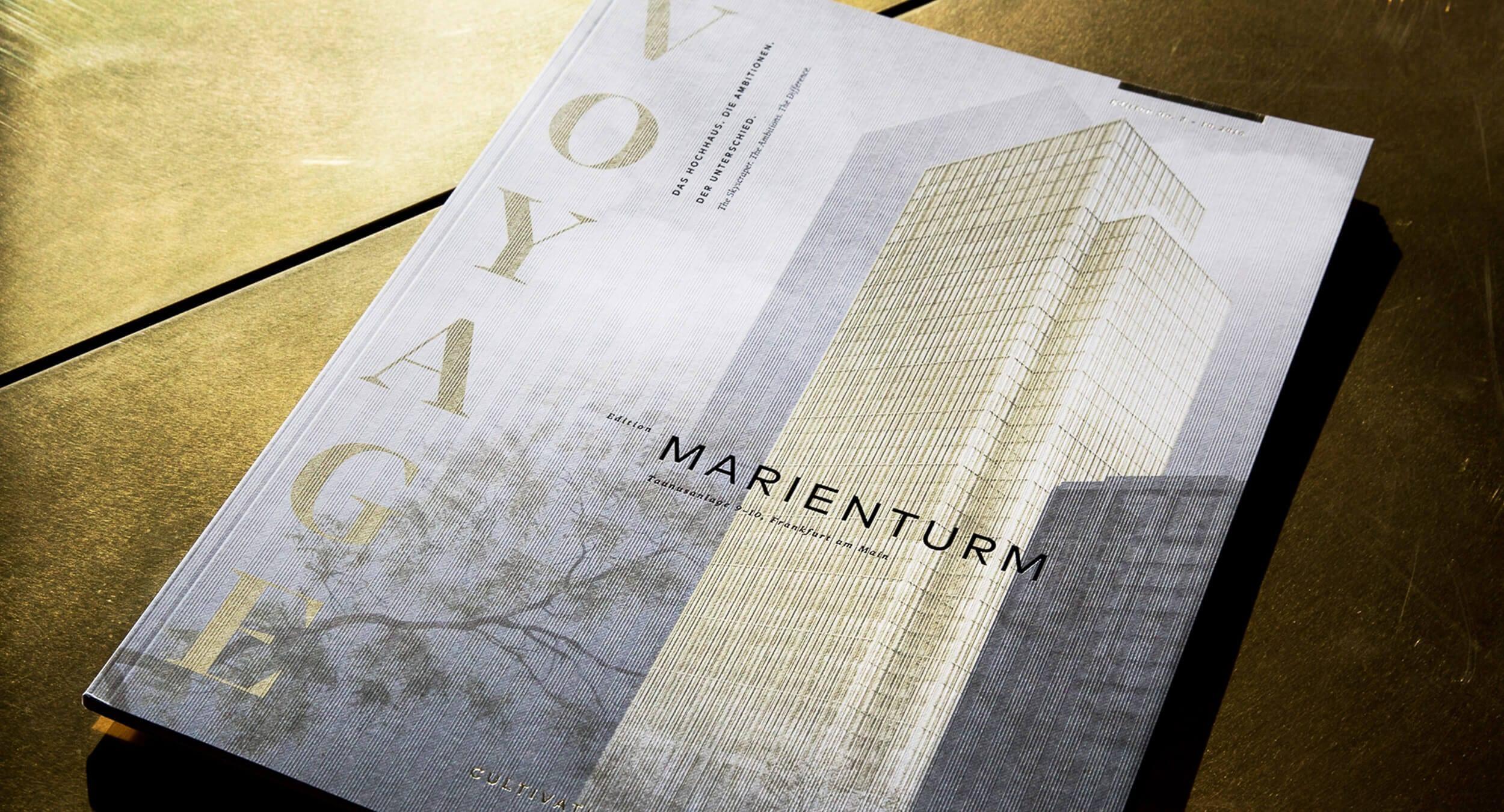 acre Immobilien Agentur in Frankfurt konzipiert Showroom Marieninsel