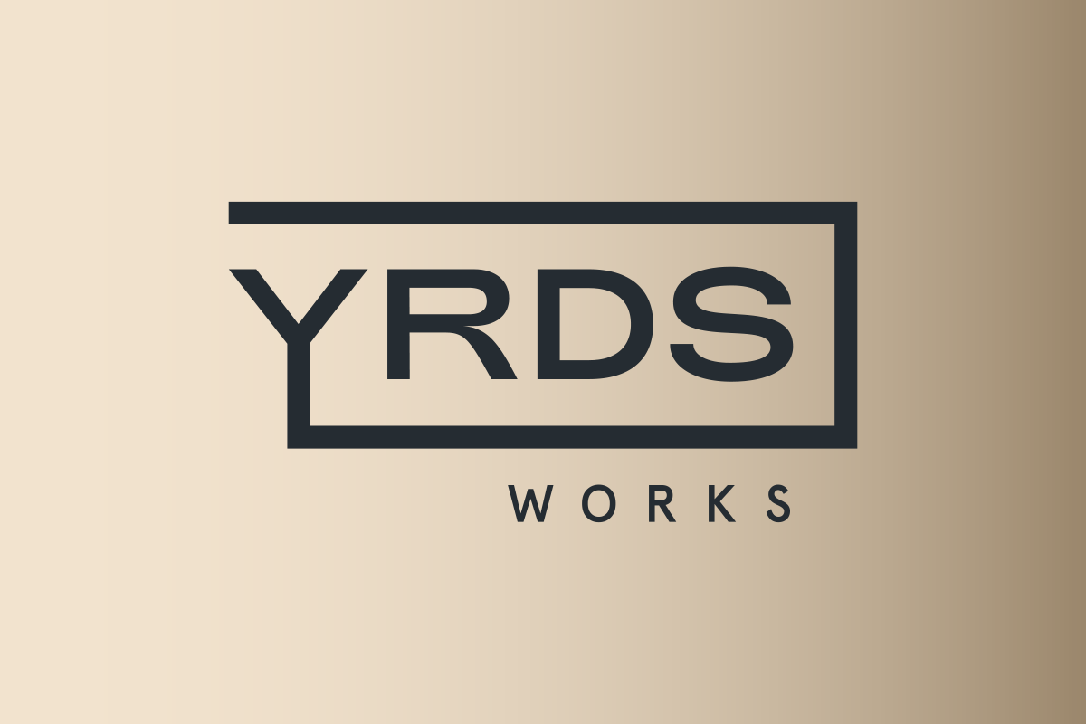 YRDS Logo Design gold