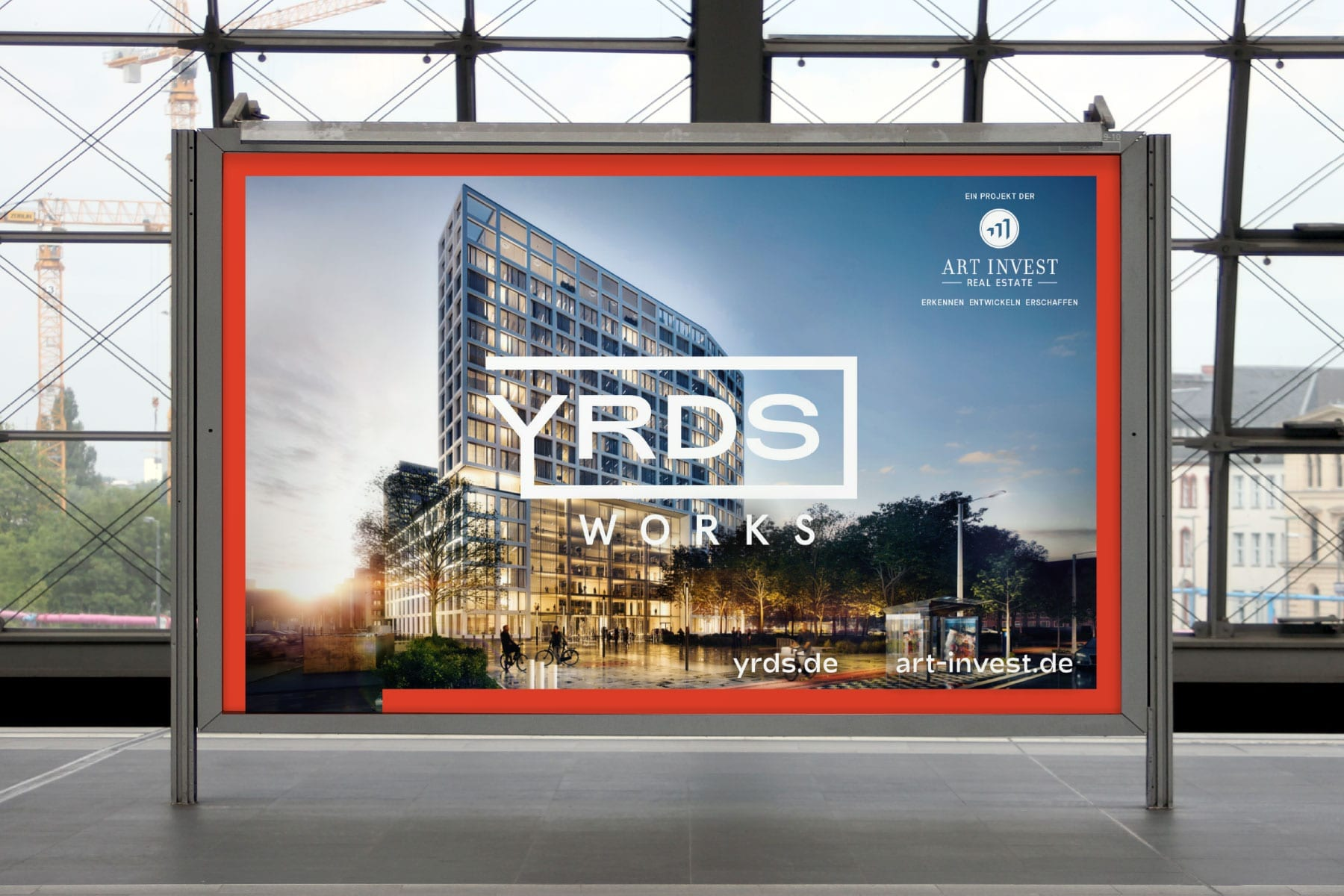 Markenentwicklung-Smart-Office-Building-YRDS-Billboard