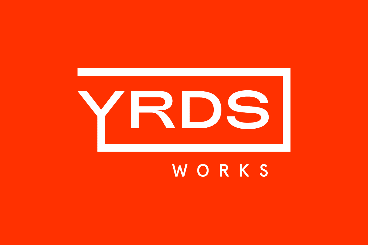 Markenentwicklung Smart-Office-Building – YRDS Logo red