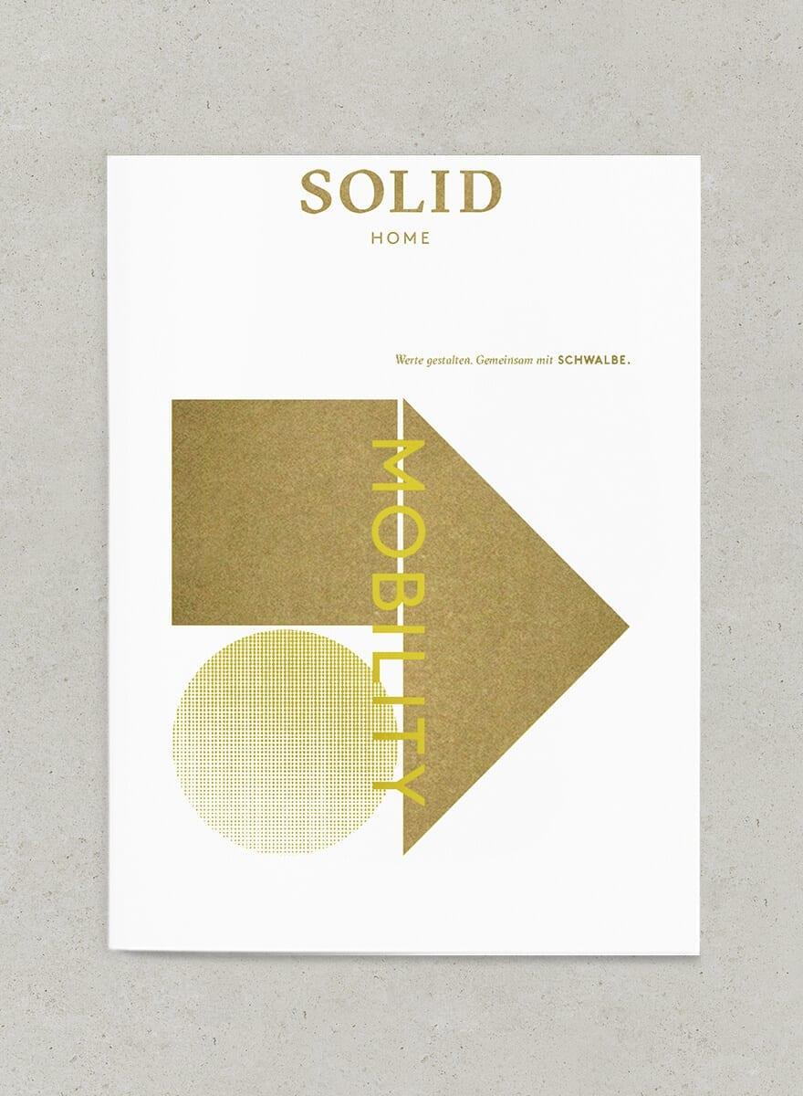 Vermaktungsunterlage SOLID Home –Flyer zur Mobilität des Wohnprojekts – von acre