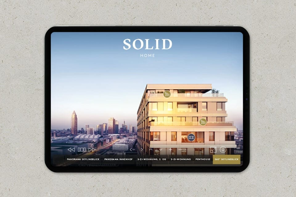 activ consult real estate SOLID Home panorama app