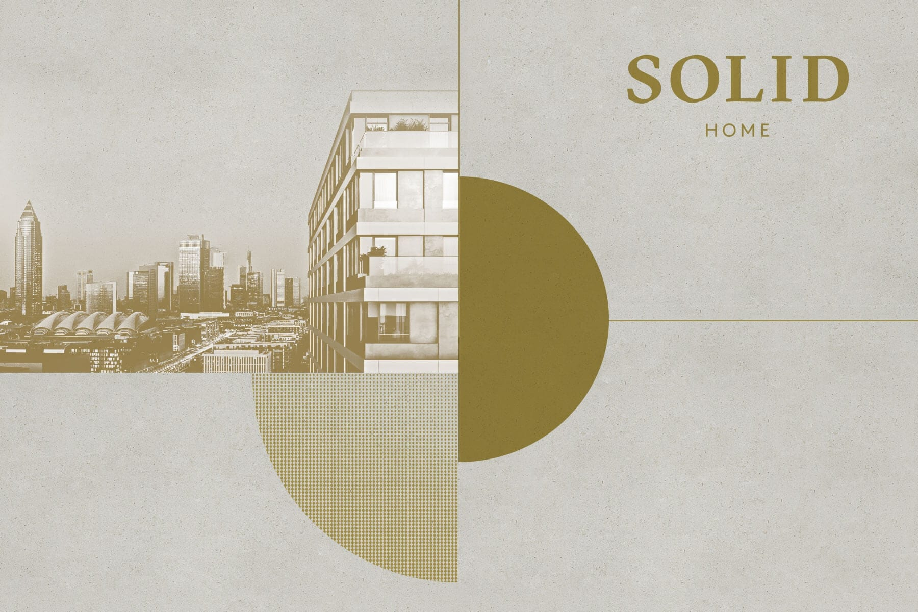 activ consult real estate branding for SOLID Home – residential project Frankfurt/Main