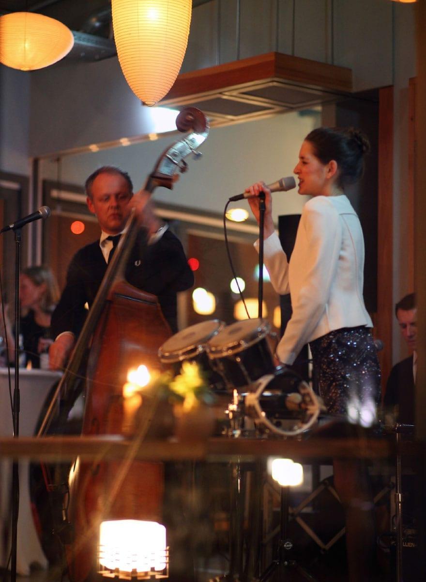 Live Event in dem Restaurant Laube Liebe Hoffnung