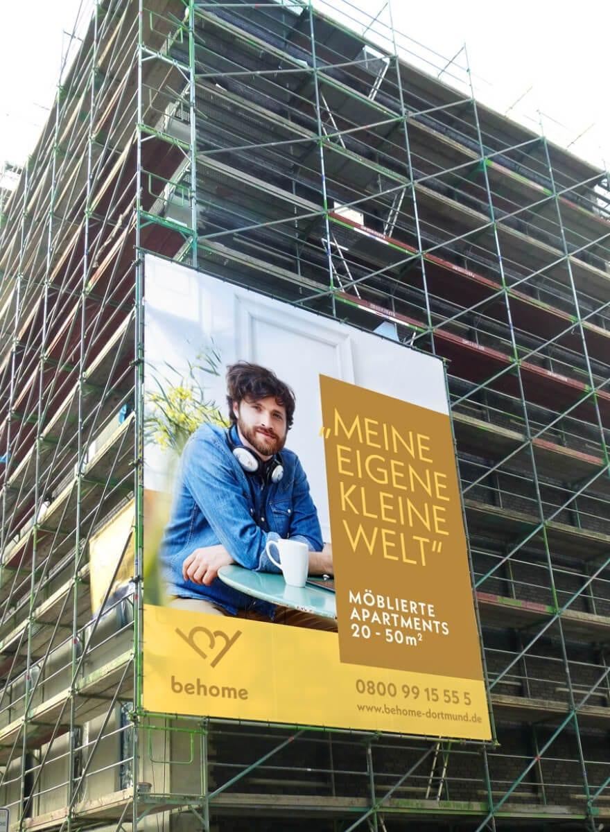 behome - Markenentwicklung Werbebanner