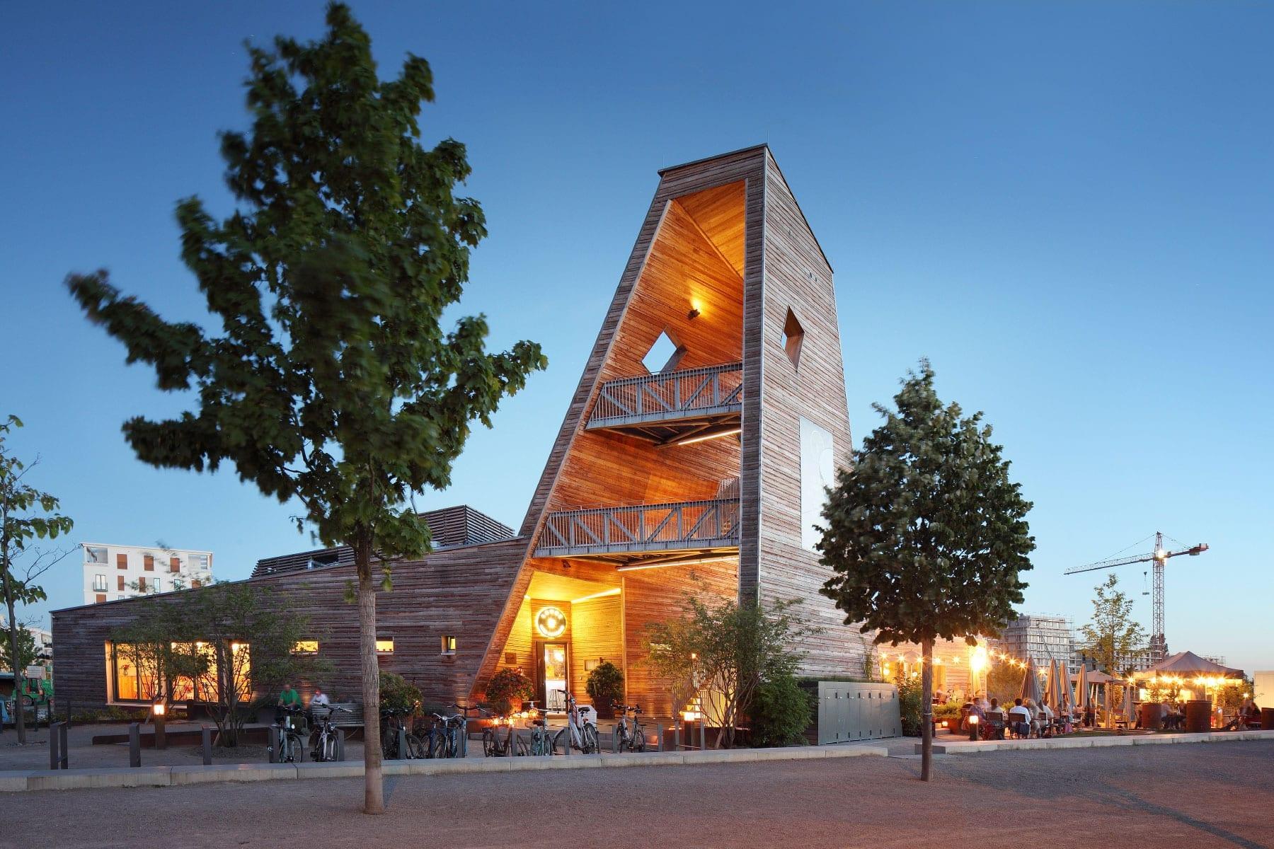 Das Restaurant Laube Liebe Hoffnung im Europaviertel