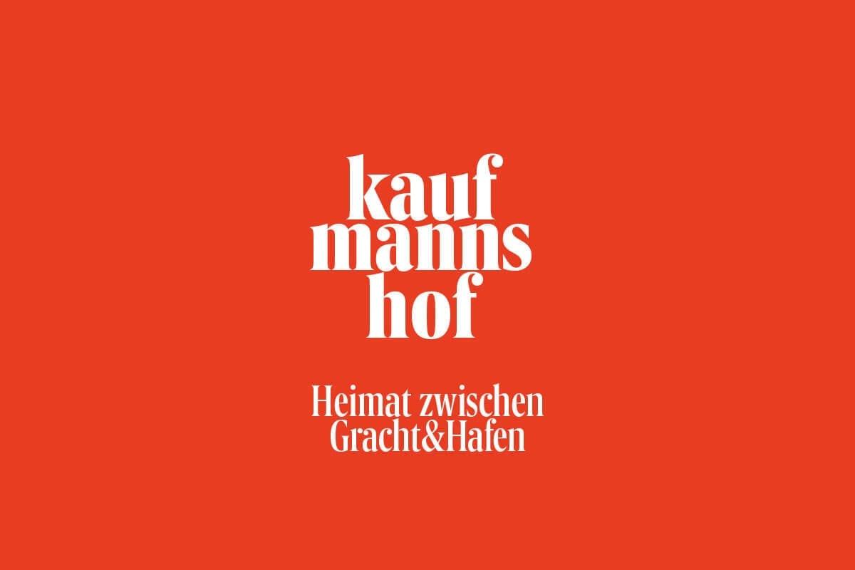 Markenentwickliung Kaufmannshof Wort-Bildmarke mit Claim