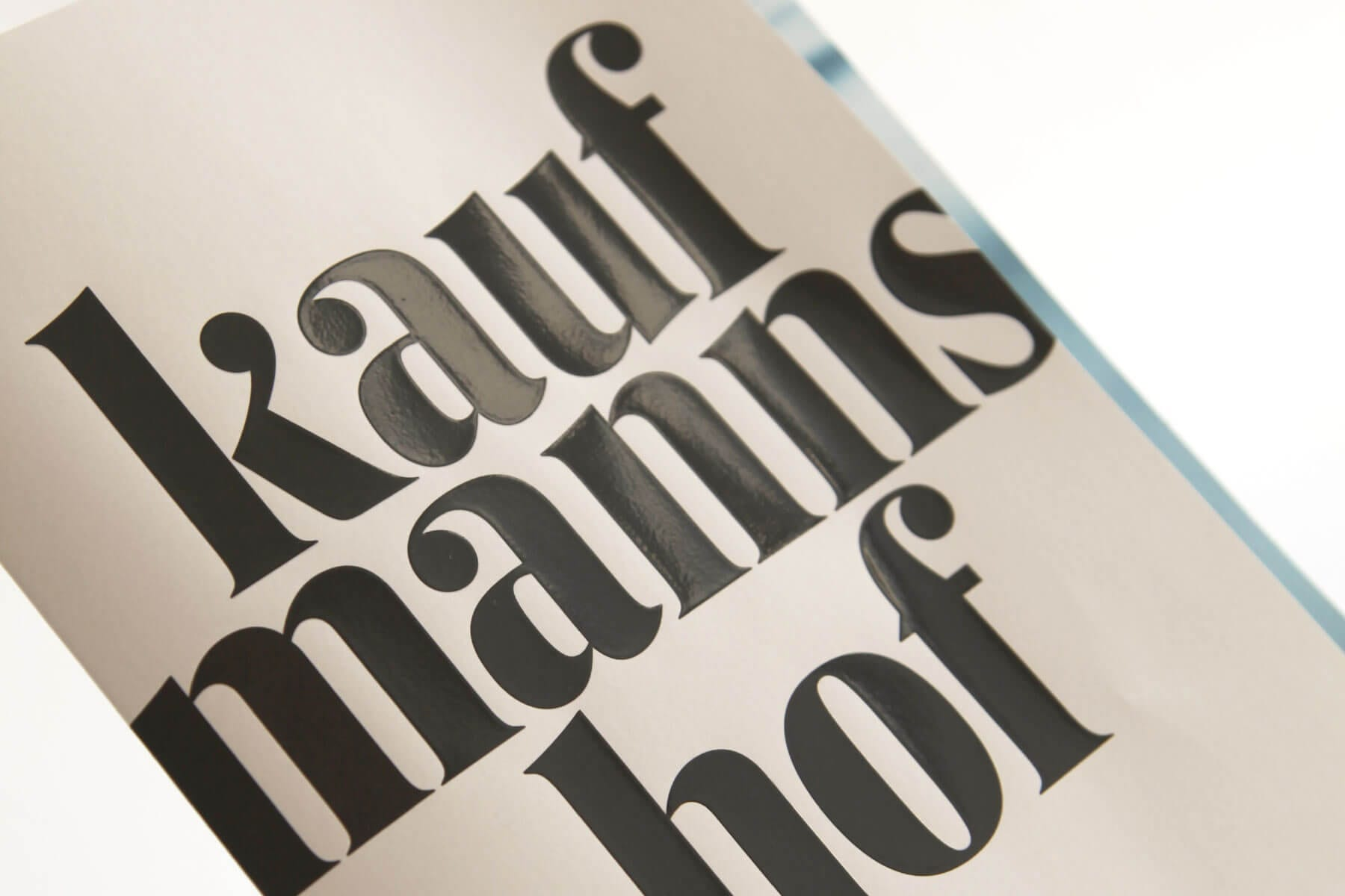 Brand development Kaufmannshof Teaser Close-Up-Cover
