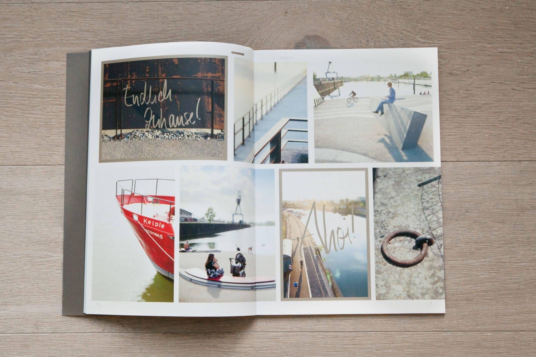 Branding Kampagne Wohnimmobilien Hafengold Broschüre