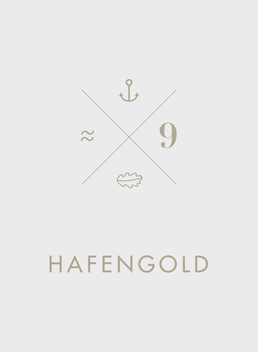 Branding Kampagne Wohnimmobilien Hafengold Corporate Identity