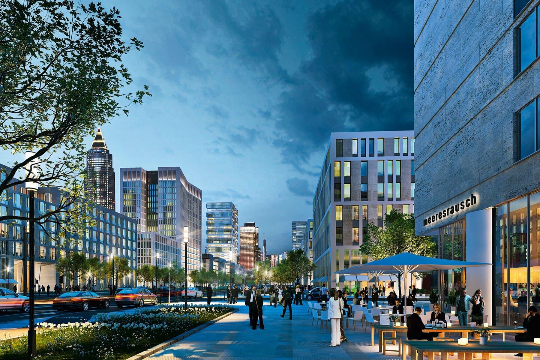 BLVD Mitte Europaviertel Quartiersentwicklung
