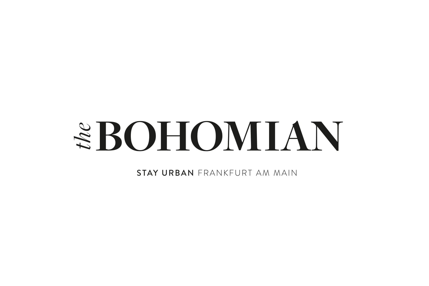 The Logo of THE BOHOMIAN