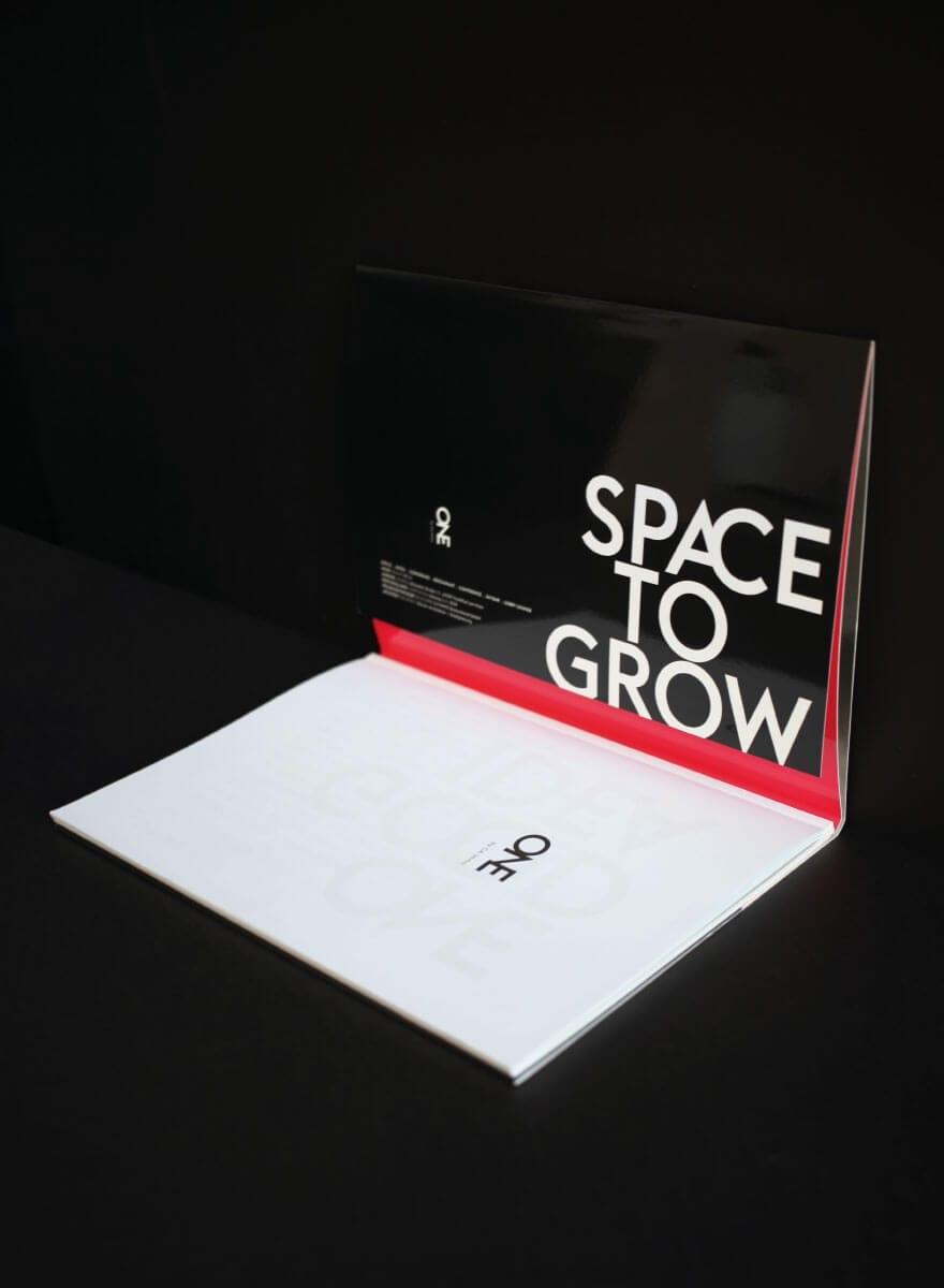 Branding-Kampagne ONE by CA Immo Spacebook Innen