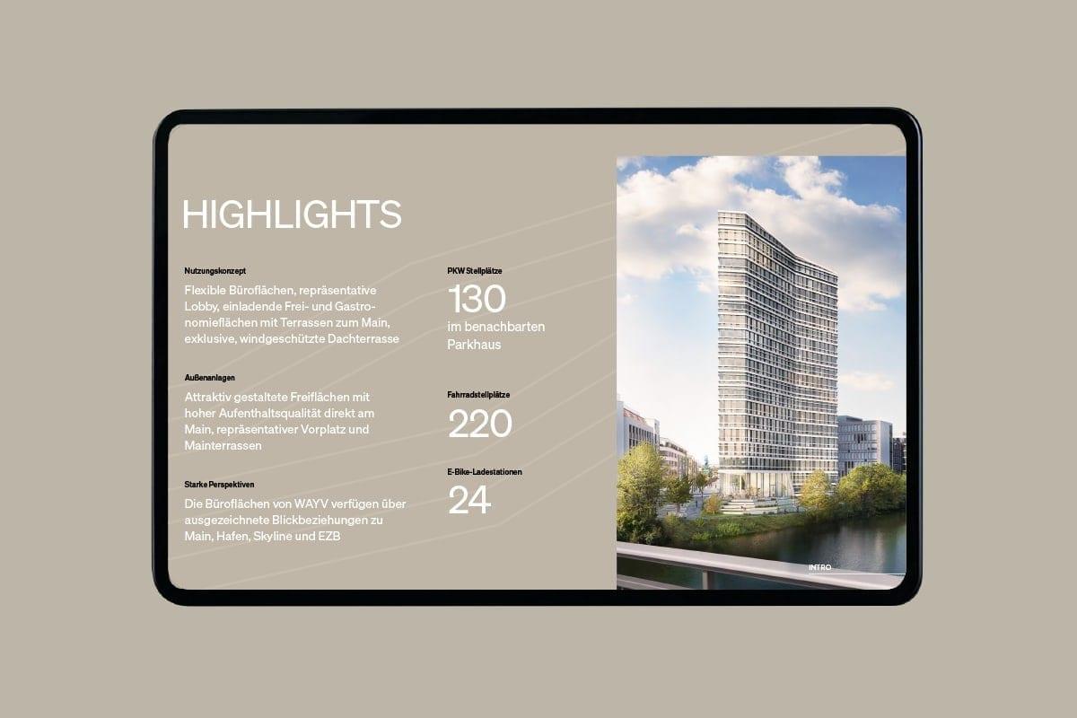 WAYV Digitale Präsentation - Highlights